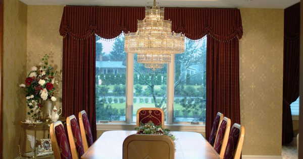 Custom Window Treatments – Drapery Panels & Valances