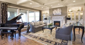 As a color consultant, Anita Thompson can blend colors and textures to give the feel you want in your home.