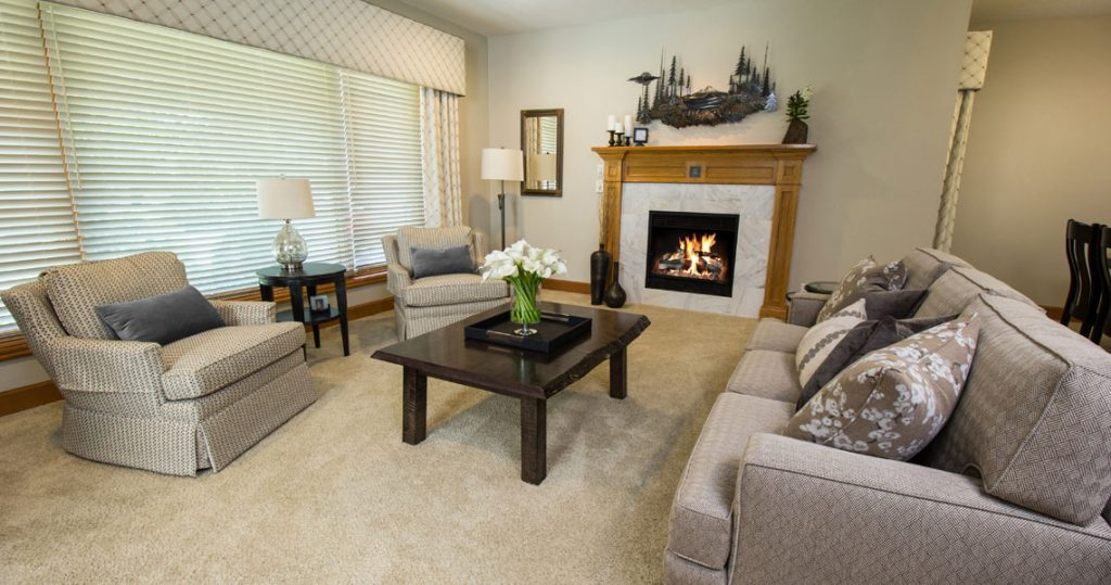 Living room furniture by Interior Spaces in Tualatin Oregon