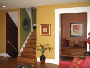 Color consulting helps coordinate multiple paint, wood and furniture colors in your homw.