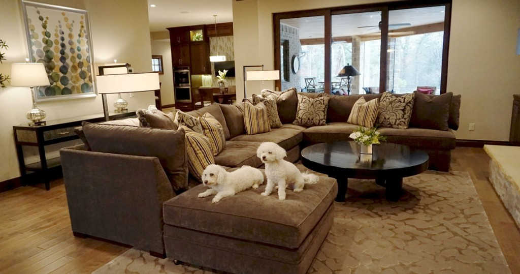 u shaped sofa for family room