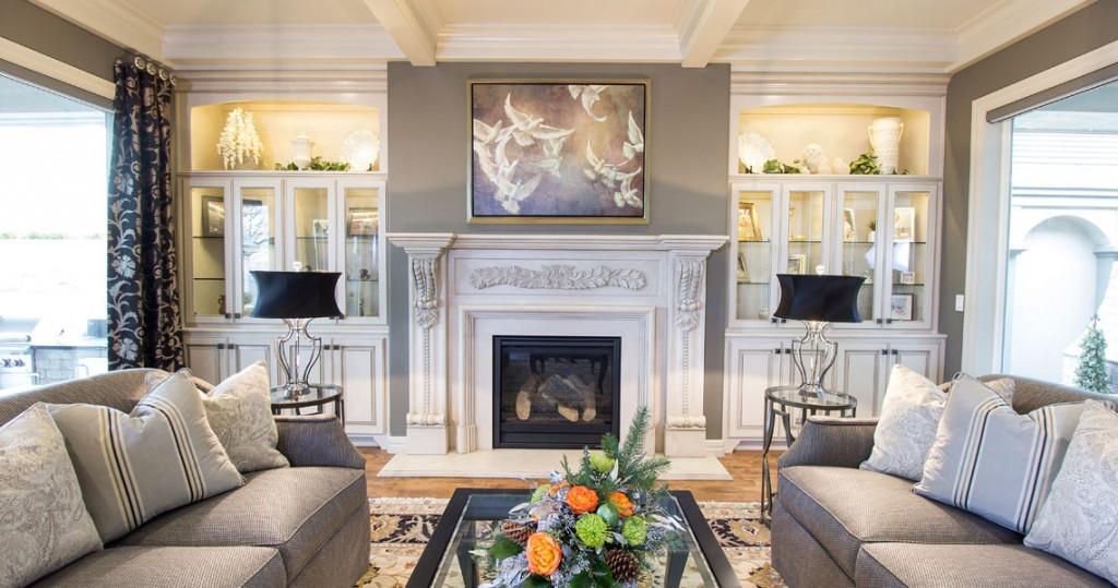 traditional living room, interior design portland oregon