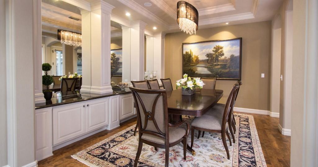 formal dining room, Thomasville furniture, Karastan area rug