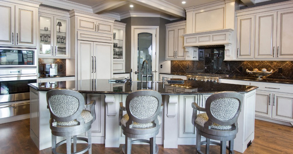 glazed kitchen cabinets interior spaces portland oregon
