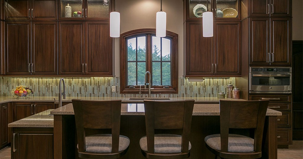 vertical glass tile and hubberton forge bar pendants